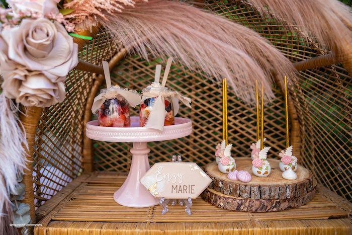 Muted Boho Princess Party on Kara's Party Ideas | KarasPartyIdeas.com (13)