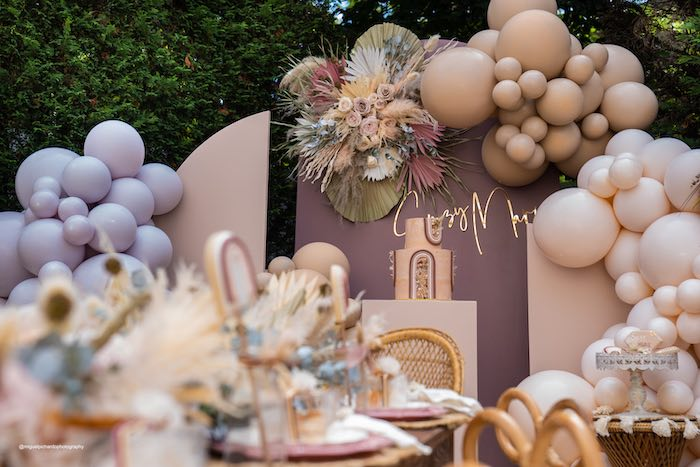 Muted Boho Princess Party on Kara's Party Ideas | KarasPartyIdeas.com (33)