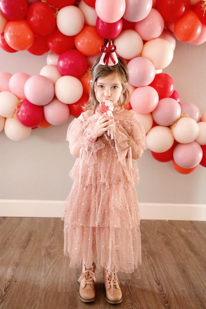 Naughty & Nice Christmas Inspired Birthday Party on Kara's Party Ideas | KarasPartyIdeas.com (49)