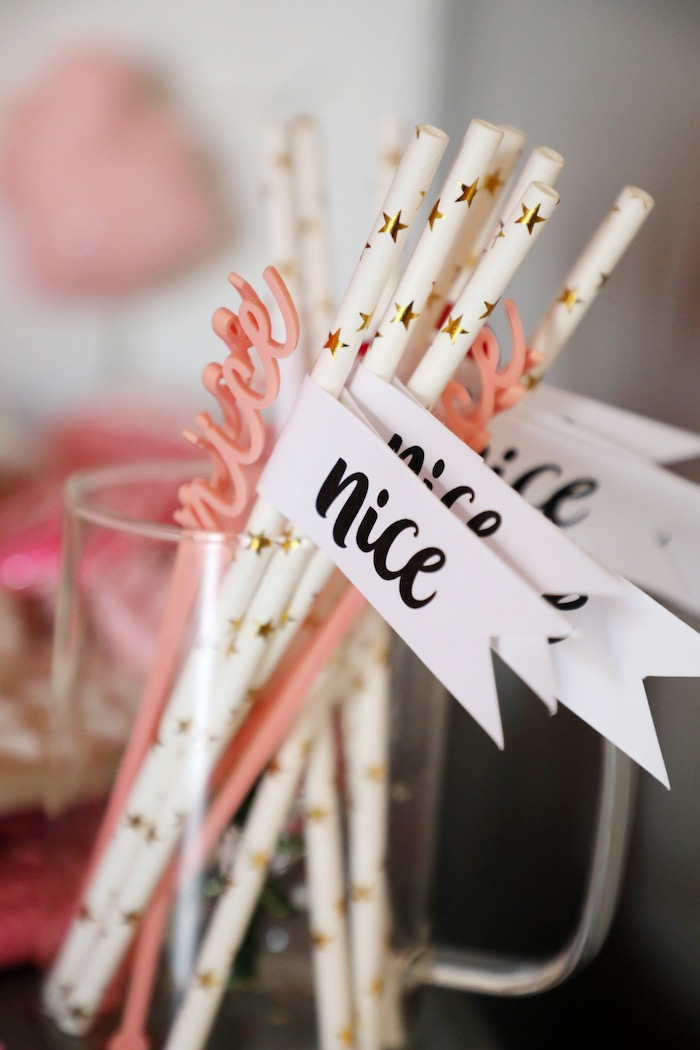 Naughty & Nice Christmas Inspired Birthday Party on Kara's Party Ideas | KarasPartyIdeas.com (6)