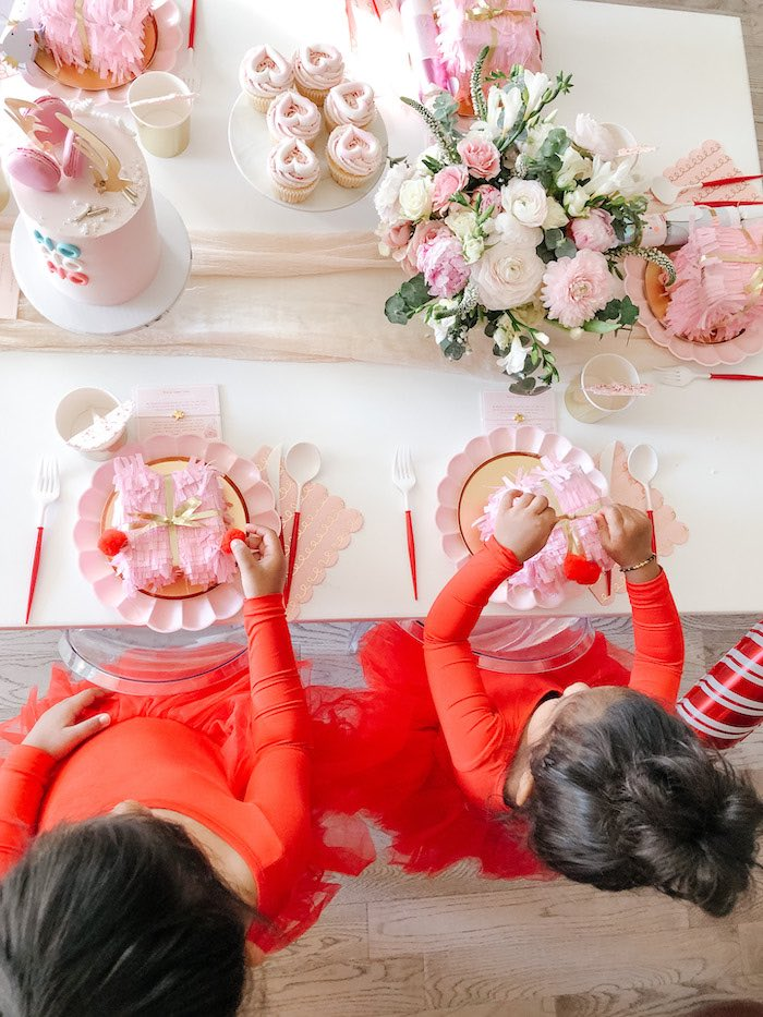 Pink Peppermint Christmas Party on Kara's Party Ideas | KarasPartyIdeas.com (11)