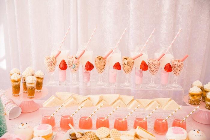 Pink Polar Express Party on Kara's Party Ideas | KarasPartyIdeas.com (29)