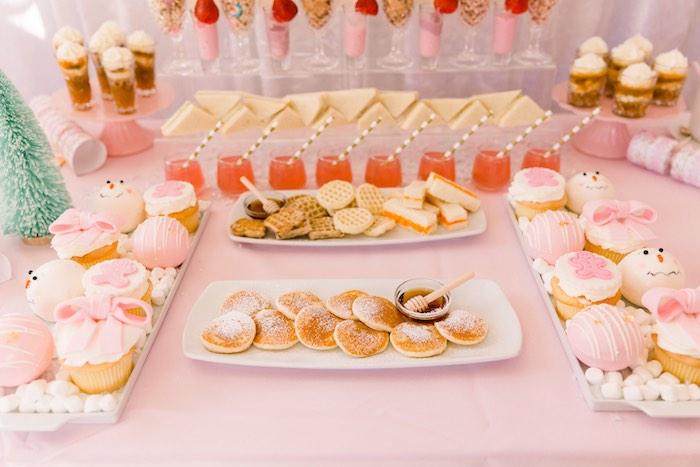 Pink Polar Express Party on Kara's Party Ideas | KarasPartyIdeas.com (28)