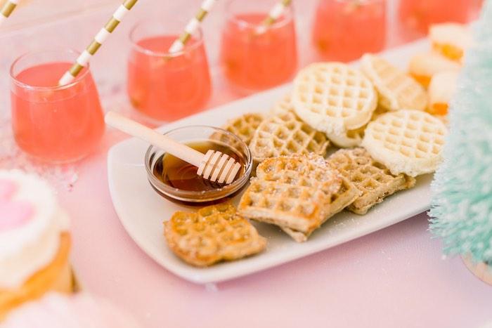 Pink Polar Express Party on Kara's Party Ideas | KarasPartyIdeas.com (27)