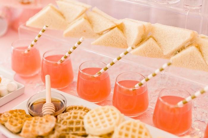 Pink Polar Express Party on Kara's Party Ideas | KarasPartyIdeas.com (26)