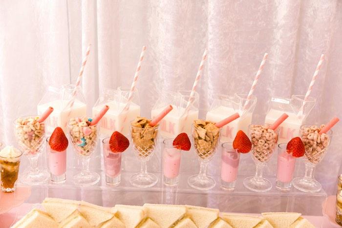 Pink Polar Express Party on Kara's Party Ideas | KarasPartyIdeas.com (25)