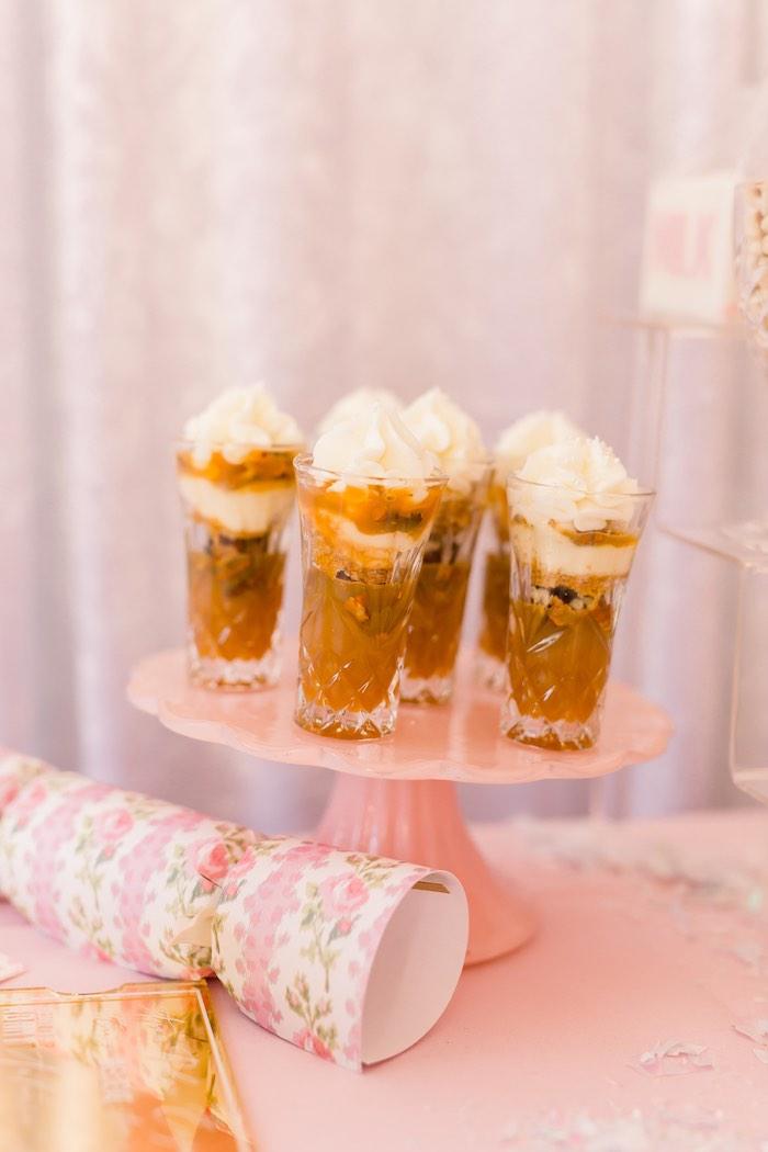Dessert Shooters from a Pink Polar Express Party on Kara's Party Ideas | KarasPartyIdeas.com (47)