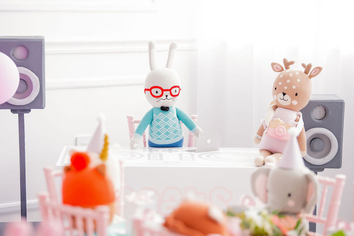 Stuffed Animal Picnic Party on Kara's Party Ideas | KarasPartyIdeas.com (24)
