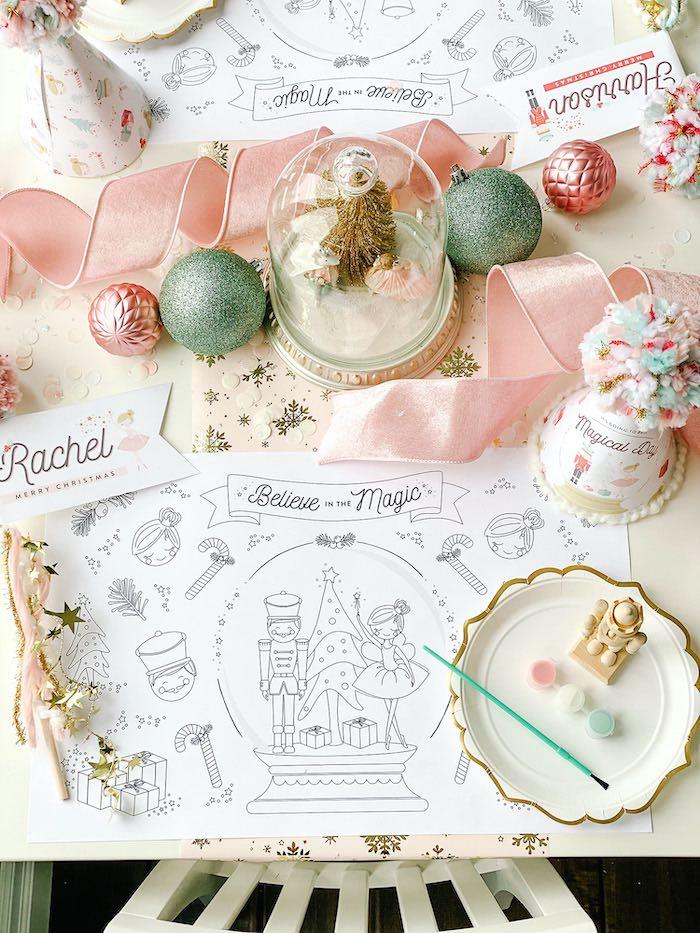 Sugar Plum Fairy Birthday Party on Kara's Party Ideas | KarasPartyIdeas.com (18)