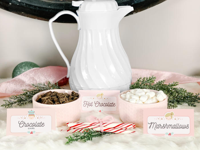 Hot Chocolate Bar Toppings from a Sugar Plum Fairy Birthday Party on Kara's Party Ideas | KarasPartyIdeas.com (6)