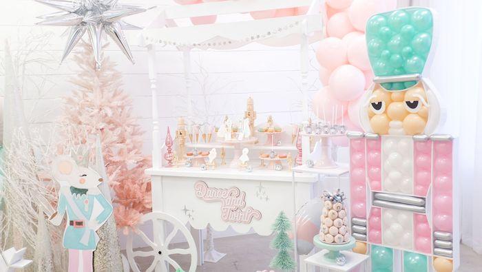 Whimsical Pastel Nutcracker Party on Kara's Party Ideas   KarasPartyIdeas.com (9)