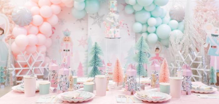 Whimsical Pastel Nutcracker Party on Kara's Party Ideas | KarasPartyIdeas.com (1)