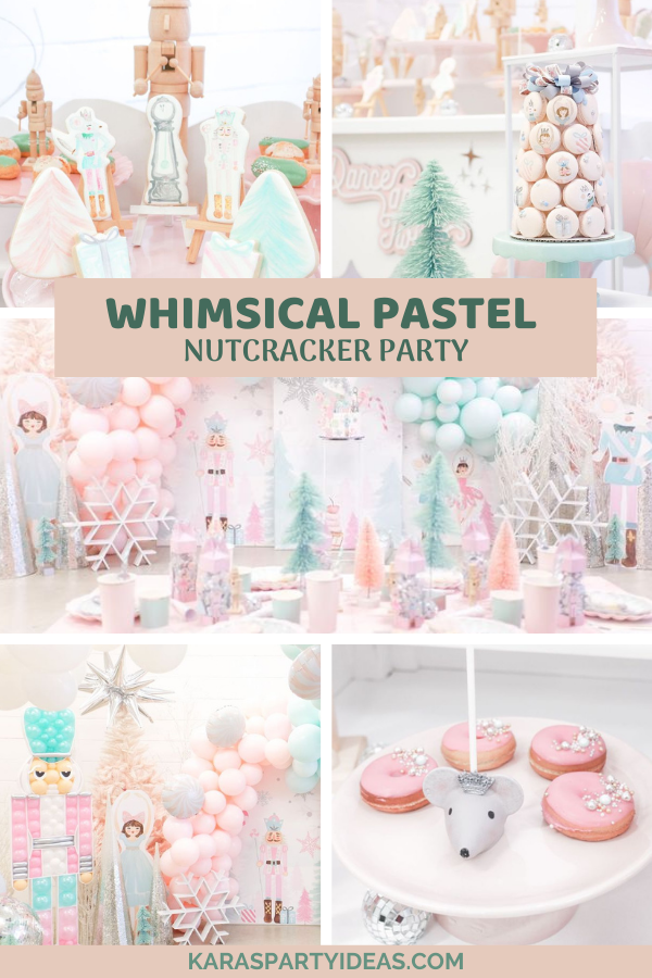 Whimsical Pastel Nutcracker Party via Kara's Party Ideas - KarasPartyIdeas.com