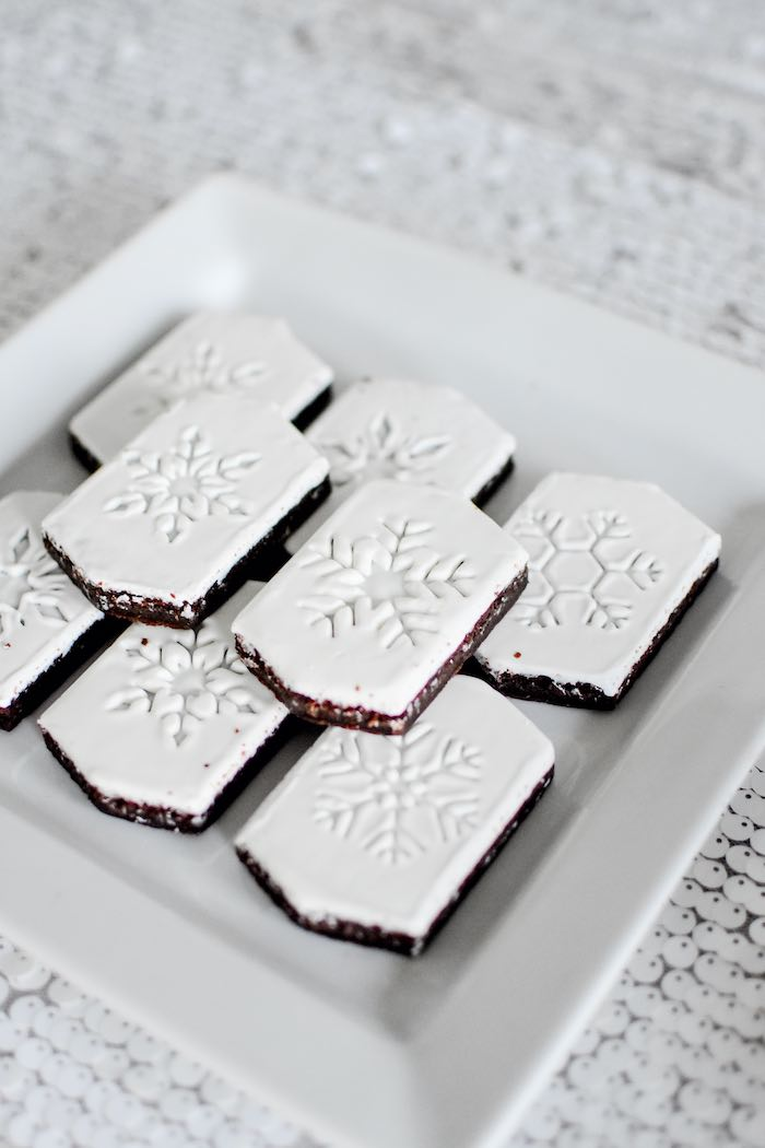 Snowflake Brownies from a Winter ONEderland 1st Birthday Party on Kara's Party Ideas | KarasPartyIdeas.com (66)