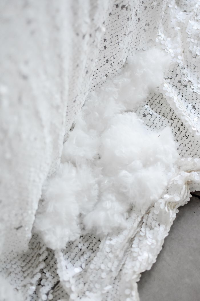 Faux Snow from a Winter ONEderland 1st Birthday Party on Kara's Party Ideas | KarasPartyIdeas.com (60)
