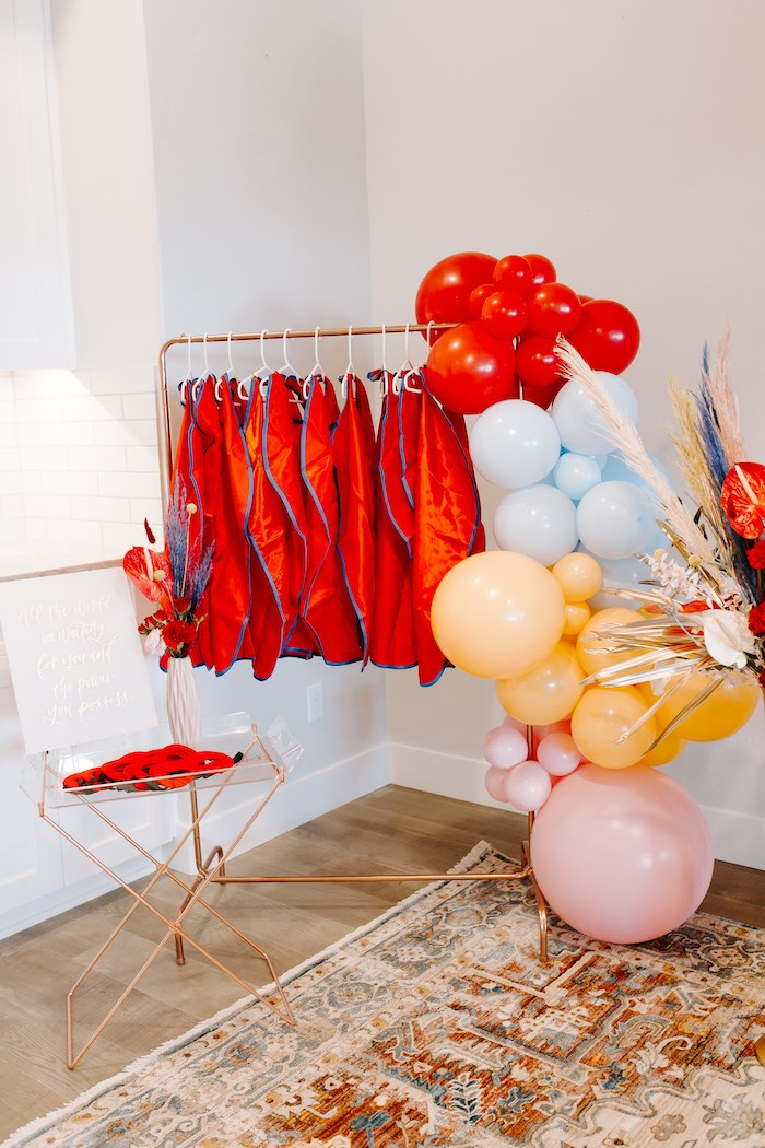 Capes + Masks from a Wonder Woman Birthday Party on Kara's Party Ideas | KarasPartyIdeas.com (24)