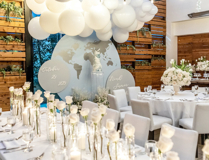 """""""Welcome to the World"""" Travel Baby Shower on Kara's Party Ideas 