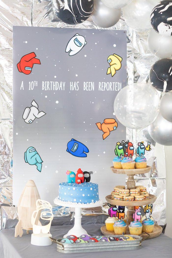 Among Us Birthday Party on Kara's Party Ideas | KarasPartyIdeas.com (12)