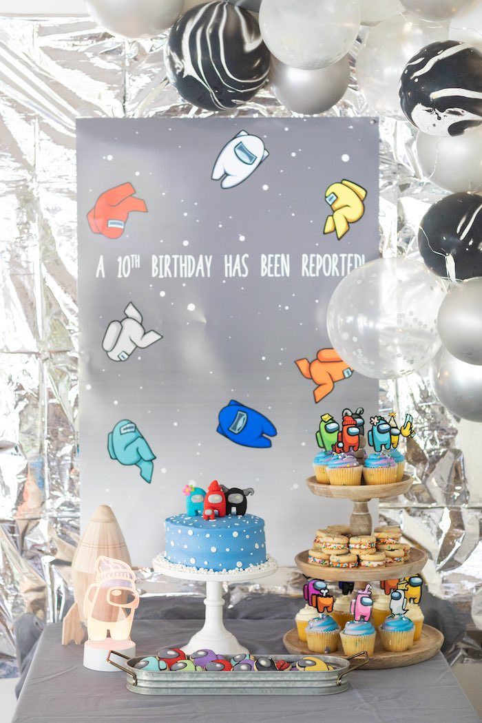 Among Us Birthday Party on Kara's Party Ideas | KarasPartyIdeas.com (17)