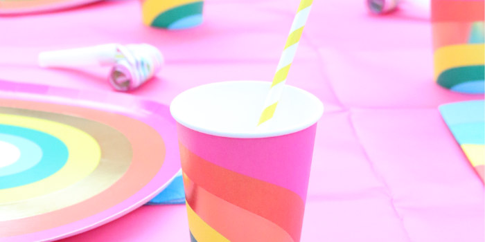 Backyard Rainbow Art Party on Kara's Party Ideas | KarasPartyIdeas.com (2)