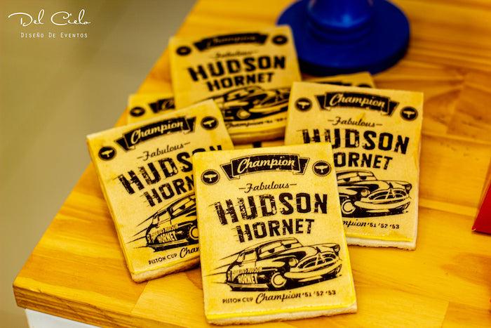 Hudson Hornet Favors from a Cars + Radiator Springs Birthday Party on Kara's Party Ideas | KarasPartyIdeas.com (11)