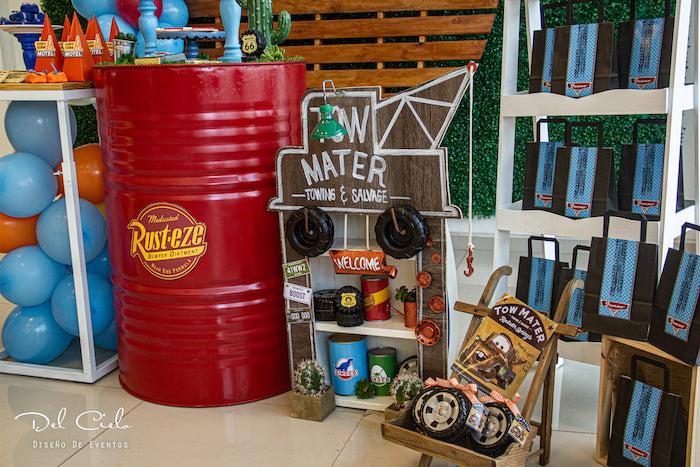 Cars + Radiator Springs Birthday Party on Kara's Party Ideas | KarasPartyIdeas.com (5)