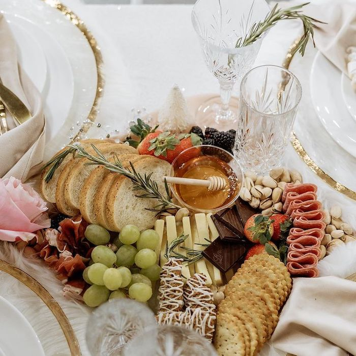 Charcuterie Board from a Cozy & Chic Winter Dinner Party on Kara's Party Ideas | KarasPartyIdeas.com (9)