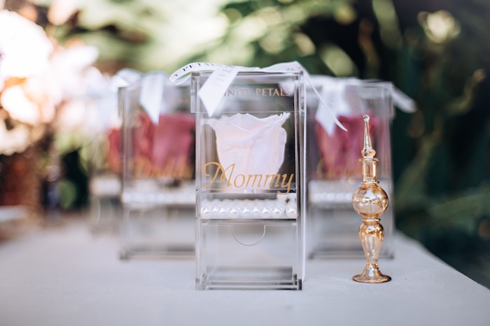 Favors from an Elegant Bohemian Blessingway on Kara's Party Ideas | KarasPartyIdeas.com (24)