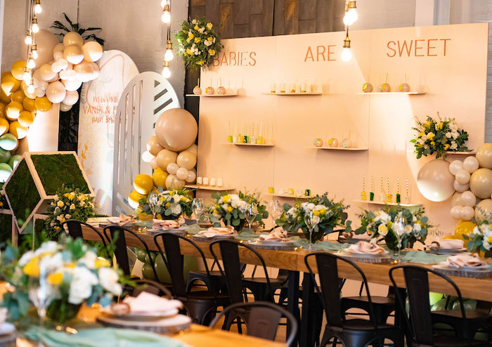 Elegant Rustic Garden Baby Shower on Kara's Party Ideas | KarasPartyIdeas.com (35)