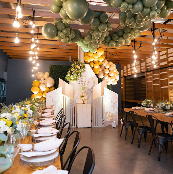 Elegant Rustic Garden Baby Shower on Kara's Party Ideas | KarasPartyIdeas.com (18)