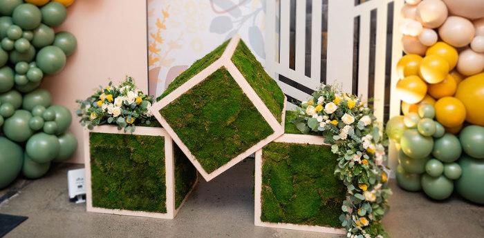 Elegant Rustic Garden Baby Shower on Kara's Party Ideas | KarasPartyIdeas.com (3)