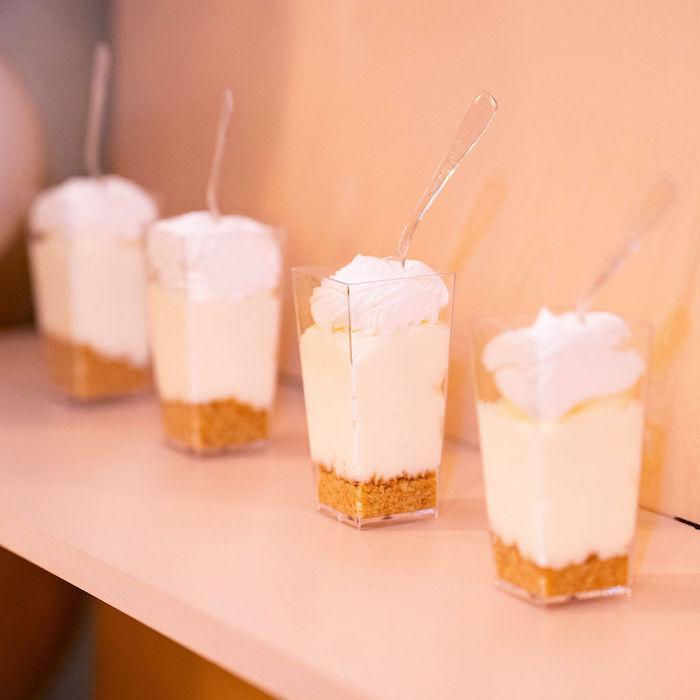 Dessert Shooters from an Elegant Rustic Garden Baby Shower on Kara's Party Ideas | KarasPartyIdeas.com (40)