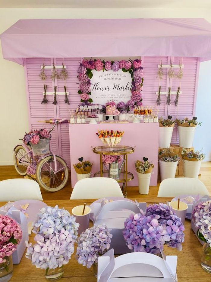 Flower Market Party on Kara's Party Ideas   KarasPartyIdeas.com (18)