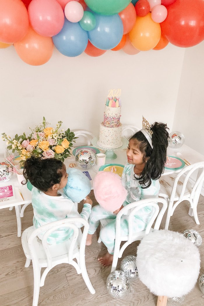 Glam Pastel New Year's Eve Party on Kara's Party Ideas | KarasPartyIdeas.com (17)