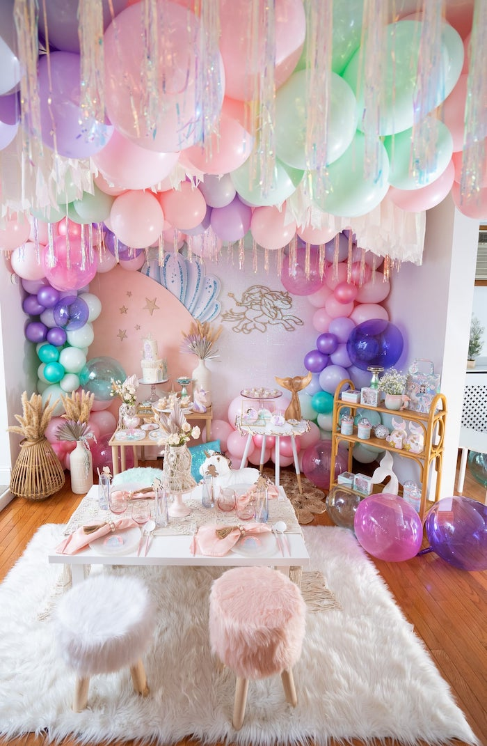 Magical Mermaids & Unicorns Party on Kara's Party Ideas | KarasPartyIdeas.com (28)