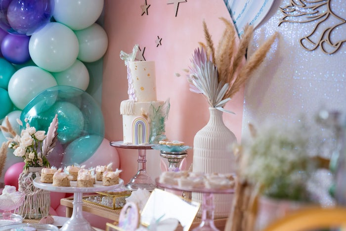 Magical Mermaids & Unicorns Party on Kara's Party Ideas | KarasPartyIdeas.com (6)