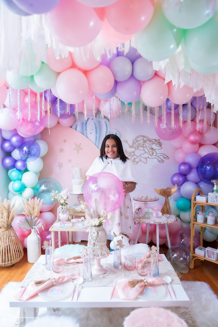 Magical Mermaids & Unicorns Party on Kara's Party Ideas | KarasPartyIdeas.com (35)
