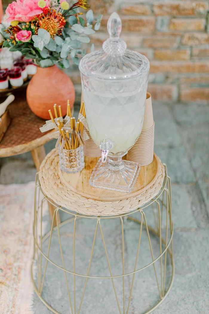 Modern Boho Christening Party on Kara's Party Ideas | KarasPartyIdeas.com (20)