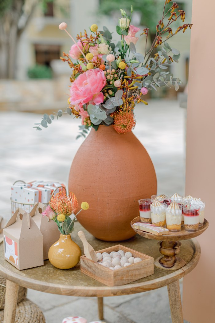 Modern Boho Christening Party on Kara's Party Ideas | KarasPartyIdeas.com (18)