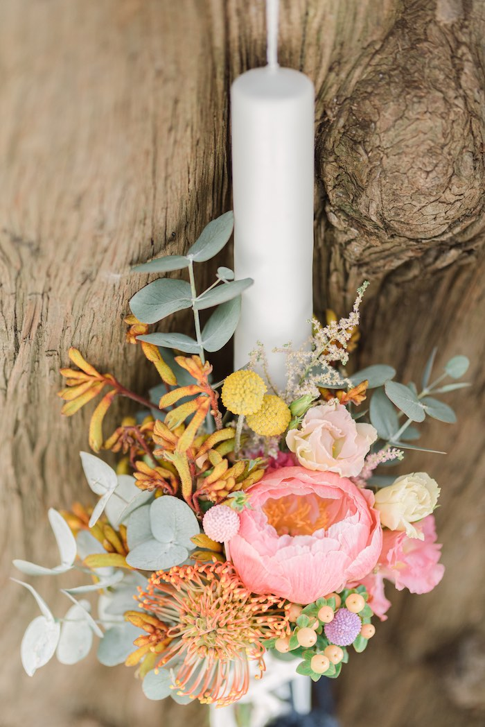 Modern Boho Blooms from a Modern Boho Christening Party on Kara's Party Ideas | KarasPartyIdeas.com (6)