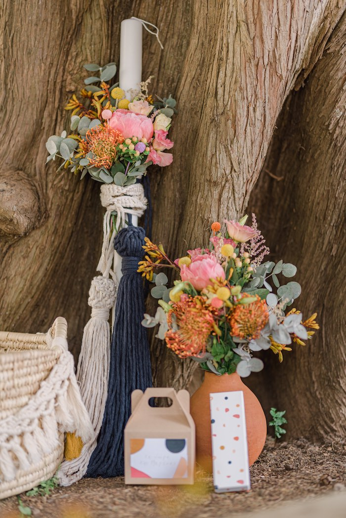 Modern Boho Christening Party on Kara's Party Ideas | KarasPartyIdeas.com (28)