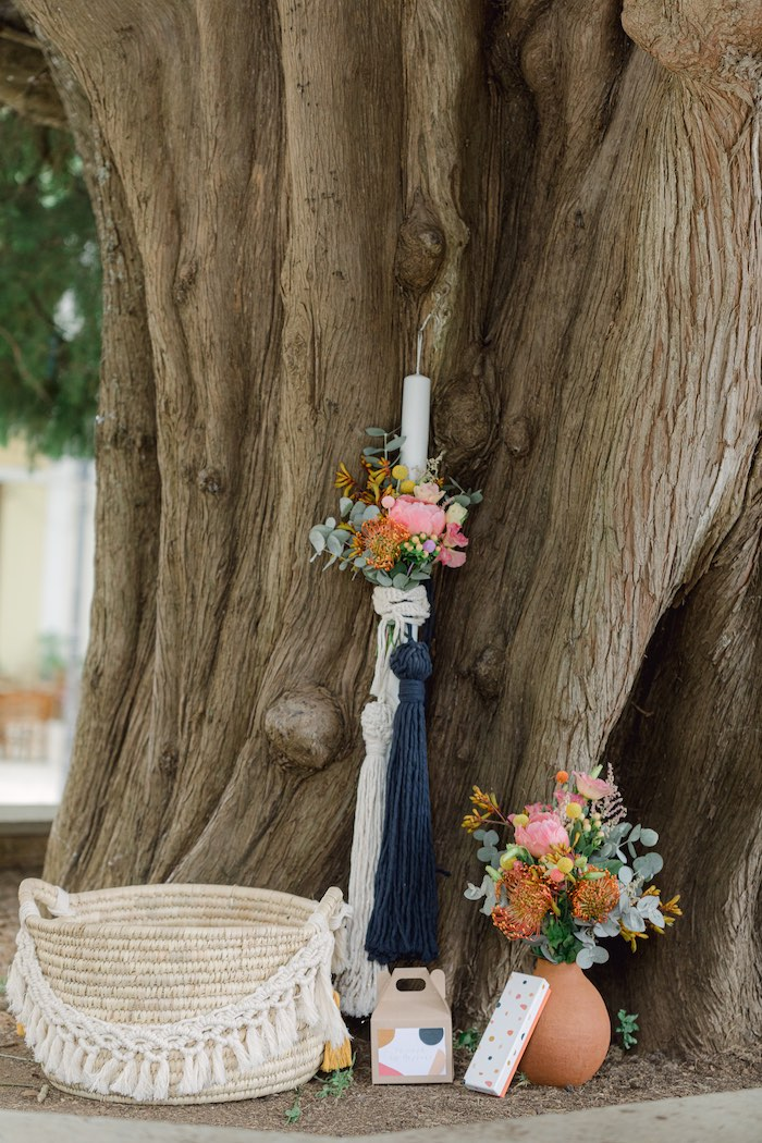 Modern Boho Christening Party on Kara's Party Ideas | KarasPartyIdeas.com (27)