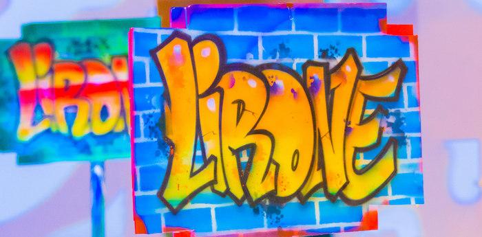 Neon Graffiti Birthday Party on Kara's Party Ideas | KarasPartyIdeas.com (1)
