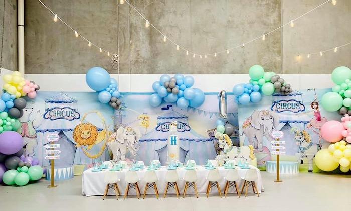 Pastel Circus Party on Kara's Party Ideas | KarasPartyIdeas.com (20)