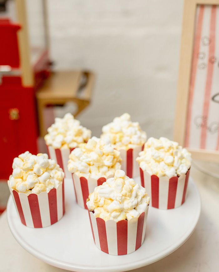 Popcorn Bin Cupcakes from a Popcorn Party on Kara's Party Ideas | KarasPartyIdeas.com (25)