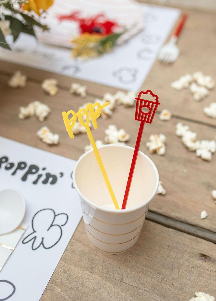 Popcorn Party on Kara's Party Ideas | KarasPartyIdeas.com (21)