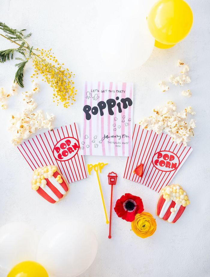 Popcorn Party on Kara's Party Ideas | KarasPartyIdeas.com (38)