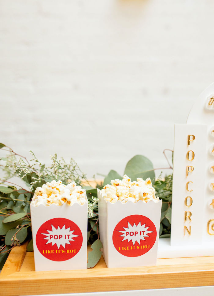 Popcorn Boxes from a Popcorn Party on Kara's Party Ideas | KarasPartyIdeas.com (35)