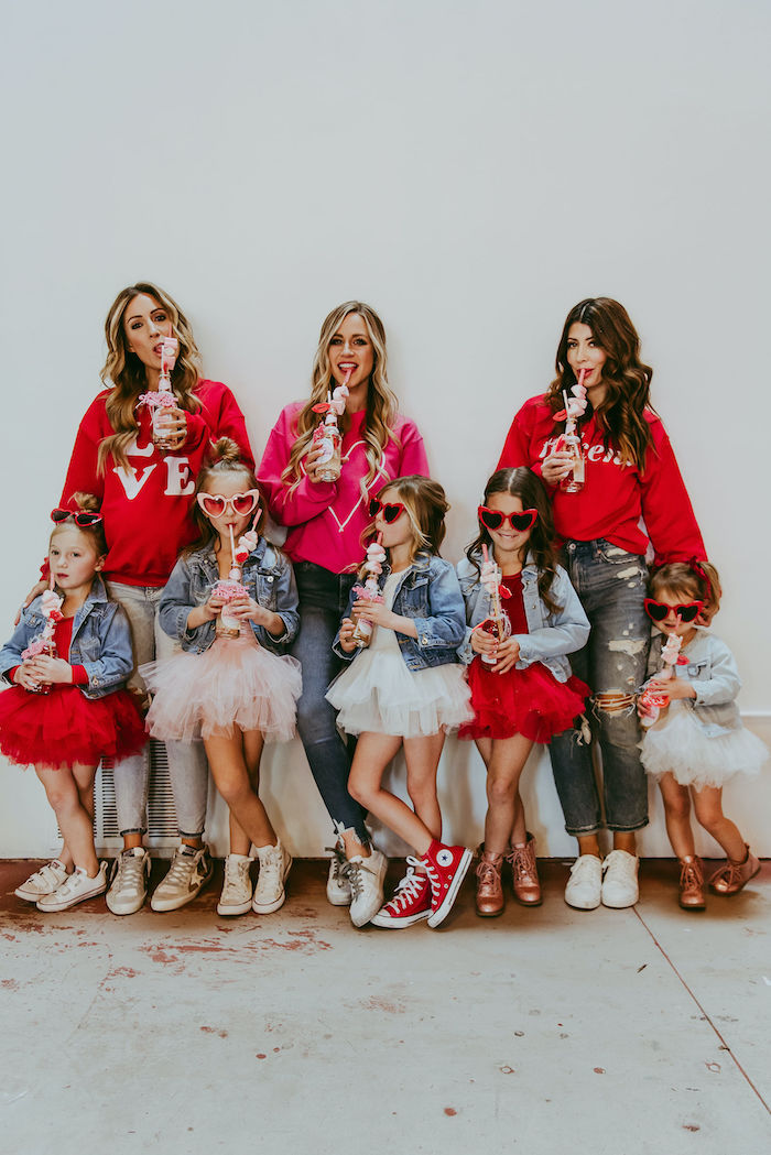 Posh Mother-Daughter GALentine's Day Party on Kara's Party Ideas | KarasPartyIdeas.com (42)