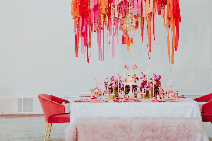 Posh Valentine's Day Party Table from a Posh Mother-Daughter GALentine's Day Party on Kara's Party Ideas | KarasPartyIdeas.com (18)